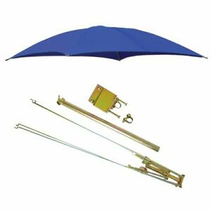 Rops Tractor Umbrella With Frame Mounting Bracket 54 Blue
