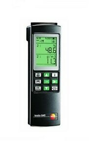 Testo 645 0560 6450 Humidity temperature Measuring Instrument With Battery New