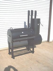 New Patio Custom Bbq Pit Smoker Charcoal Grill