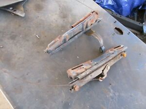 65 Plymouth Belvedere Ii Satellite Front Bench Seat Tracks Oem Working Pair
