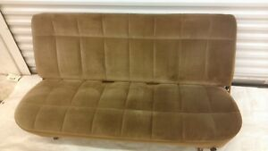 1980 1986 Ford F150 F250 F350 Front Bench Seat Tan 1987 1991 1992 1996