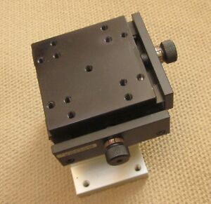 Rare Swiss Made Xy axis 70x70mm Stage Linear Precision Platform Excellent