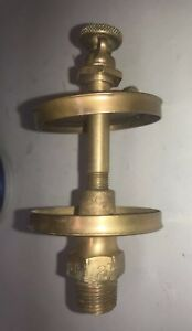 Powell Co Pilgrim 2 Brass Oiler Parts For Hit Miss Gas Engine Antique