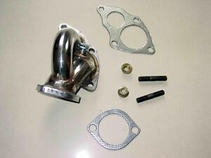 1995 1999 Eclipse 2g Dsm O2 Housing Dump Tube Pipe 4g63 Oem Turbo O2 Dump Pipe