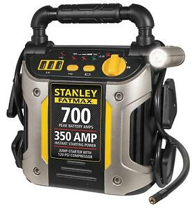 Car Jump Starter Air Compressor Battery Booster 700 Amp Portable Auto Charging