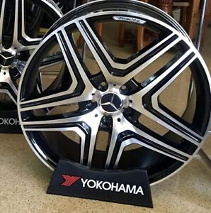 Mercedes 20 Inch Ml63 Brand New Rims Wheels Fit Gl450 Ml350 Ml550 Fitment Amg