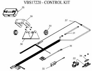 Boss Part Vbs17220 2017 Up Boss Forge Spreader Control Kit
