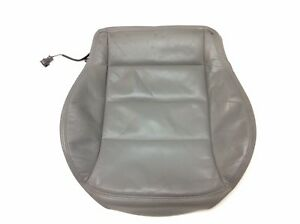 Genuine Volkswagen Jetta Mk4 Front Leather Seat Lower Cover Heated Gray Oem