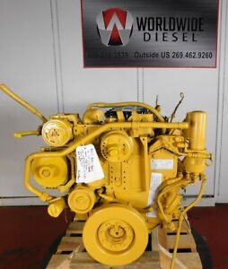 2006 Cat C7 Wax Diesel Engine 350 Hp Approx 116k Miles All Complete