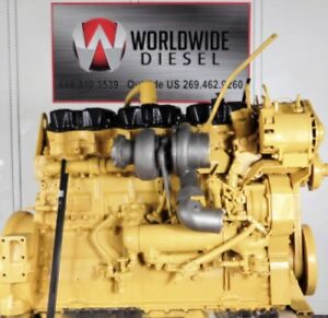 1999 Cat 3406e 1lw Diesel Engine 475hp All Complete And Run Tested