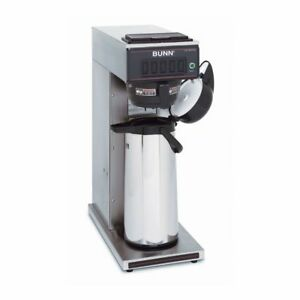 Bunn 23001 0006 Auto Airpot Coffee Brewer With Hot Water Faucet