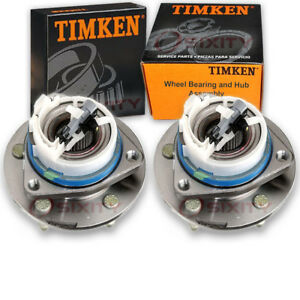 Timken Front Wheel Bearing Hub Assembly For 2001 2008 Pontiac Grand Prix Pz