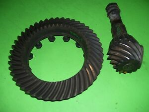 97 Dodge Ram Dana Spicer 80 Rear Differential Gears 3 55 3 54 Ratio Ring Pinion