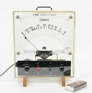 Vintage Pace Giant Educational Ohm Meter Very Rare