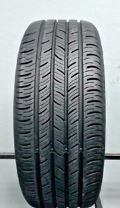 One Used 225 55r17 2255517 Continental Conti Pro Contact 10 32 J247