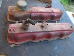 65 Plymouth Belvedere Ii Satellite Poly 273 318 Valve Covers Oem Pair Nice