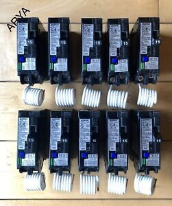 10 Pcs Murray Mpa115afc 15amp One Pole 120 v Combination Type Arc Fault Breaker
