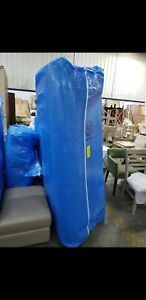 400 Sq Ft Sm Bubble Wrap Wide 5 16 Bubbles Approx 8 X 7 Ea X 8pc 96 X 84