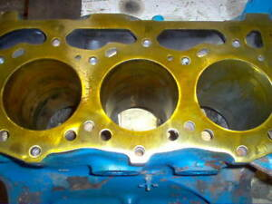 3000 Ford Tractor 3 Cylinder Gas Engine Block C5nn6015