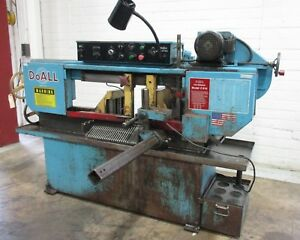 Doall Horizontal Band Saw Used Am18007