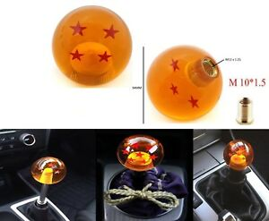 Dragon Ball Z Shift Knob 4 Star 54mm For Honda Acura Toyota Lexus M10x1 5