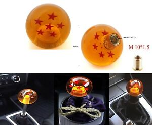 Dragon Ball Z Shift Knob 6 Star 54mm For Honda Acura Toyota Lexus M10x1 5