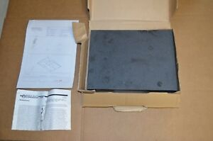 New Woodcraft Graded Black Granite Surface Plate 12 X 9 X 2