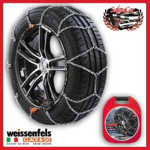 Snow Chains Weissenfels M32 Uniqa Clack go Gr L030 9mm 165 50 R15 165 50 15