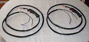 lot Of 2 Mig Torch Cable For Chicago Electric And Other Wire Feed Welders