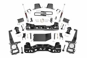 Rough Country 6 Lift Kit W N3 Shocks 2011 2012 2013 Ford F150 4wd 558s