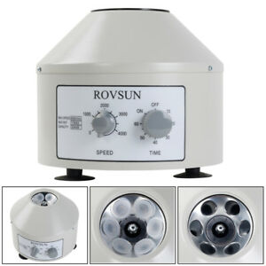 4000rpm Electric Centrifuge Machine With Timer Speed Switch