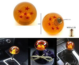 Universal Dragon Ball Z Shift Knob 6 Star For Mazda Mitsubishi Nissan M10x1 25
