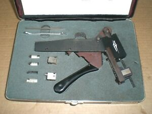Omni spectra 2098 5657 54 Compression Crimping Tool Kit With Anvils Case