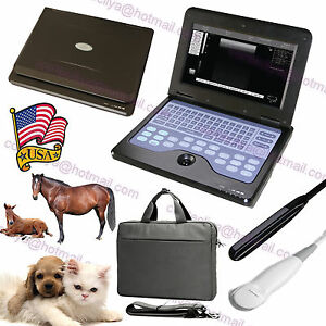 Us Seller veterinary Ultrasound Scanner Vet Machine 2 Probes cow horse dog sheep