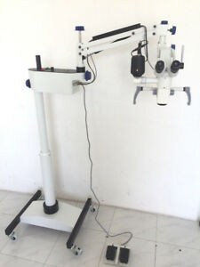 Neurosurgical Microscope With Binocular Assistance Scope