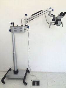 New Led Neurosurgical Microscope With Binocular Assistance Scope