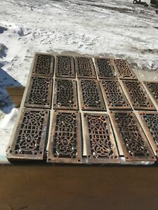 Rl 3 Antique Cast Iron Heating Grate 36 Av Price Ea5 25 X 11 75 As Found