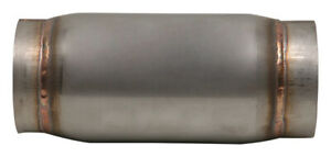4 In Out X 9 Long Vibrant Performance Race Muffler Stainless Steel 1797