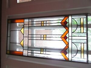 Stained Glass Window Mission Style New Two Available