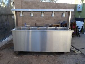 Vollrath Signature Server Buffet Hot Food Warmer Steam Table 5 Well 74 l 28 w