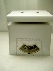 Vintage Antique Detecto Kitchen Scale 25 Lbs Brooklyn New York