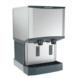 Meridian Countertop Ice Maker And Dispenser 500 Lb Production 21 1 4 w