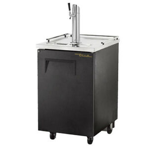 True Tdd 1 Direct Draw Beer Dispenser 1 Keg 23 w Black