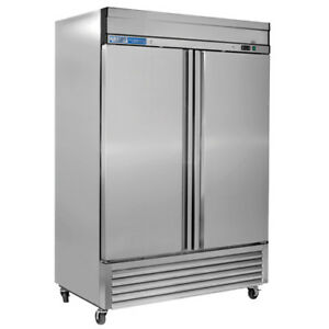 Kratos Refrigeration 69k 774 2 Door Reach in Freezer 46 Cu Ft