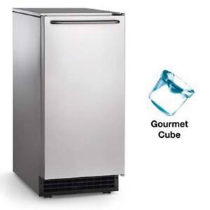 Self contained Undercounter Ice Machine 65 Lb Production Gravity Drain