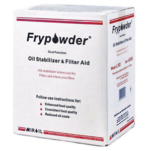 Fry Powder Oil Stabilizer And Fryer Filter Aid 3 Gal Pack For All Fryer Types