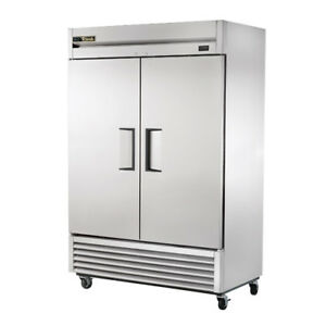 True T 49f Freezer Two Door Reach in 49 Cu Ft 120v