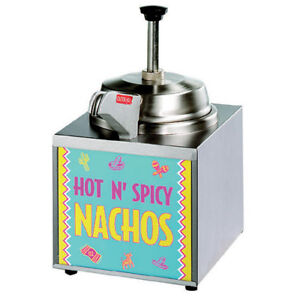 Star 3wla hs Lighted Nacho Cheese Warmer With Heated Spout
