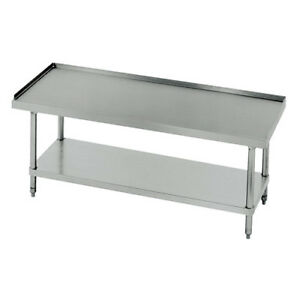 Central Restaurant 14 Gauge Stainless Steel Equipment Stand 60 wx30 d