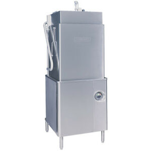 Hobart Am15t 2 Tall Door Single Rack Dishwasher 208 240v Three Phase